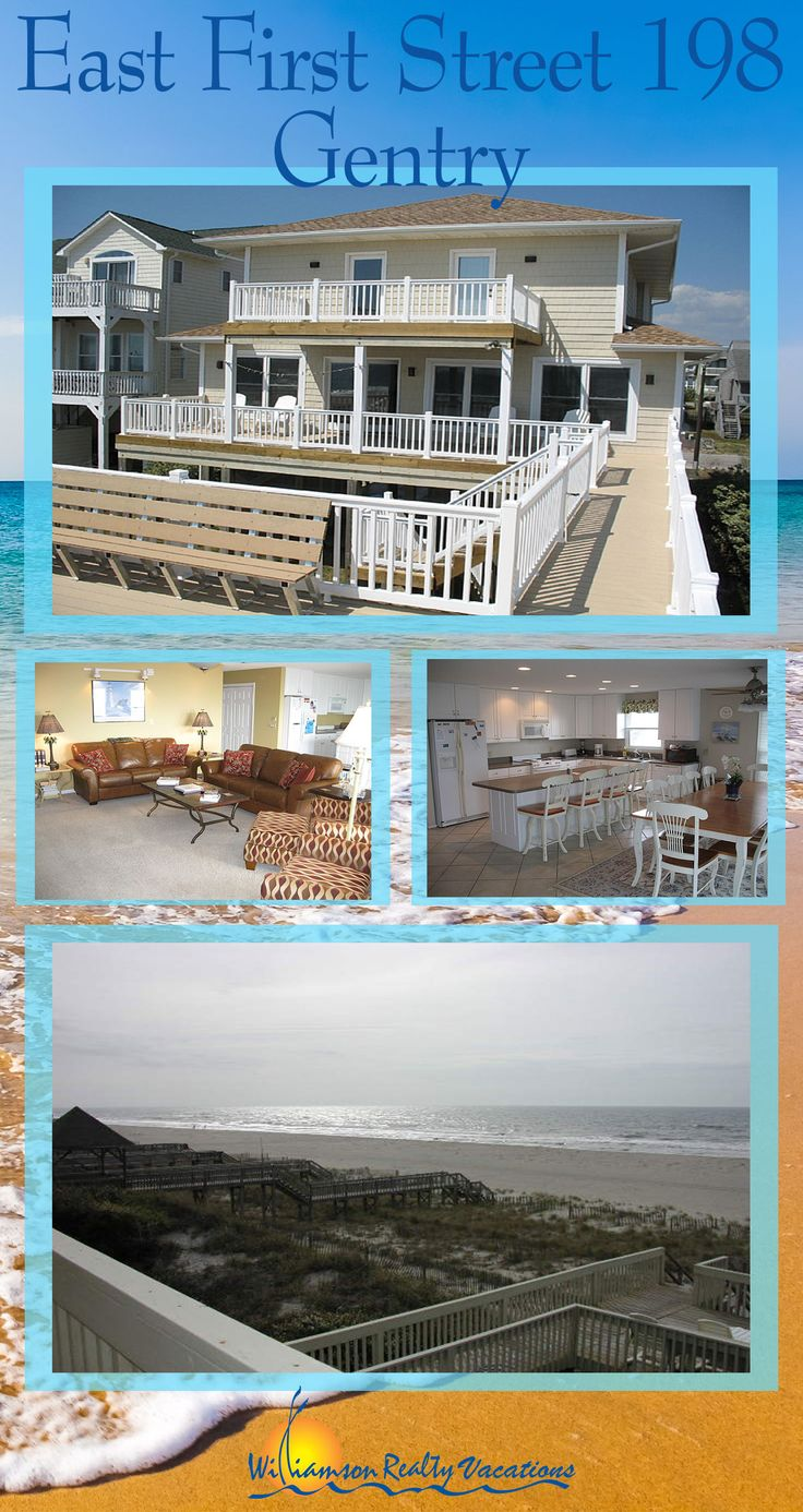 This large OCEANFRONT vacation rental features 6 bedrooms and amazing ocean views! 20 guests can gather in Ocean Isle Beach for the vacation of a lifetime at this property! Book today!