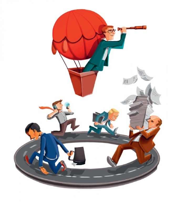 Повседневные заботы не оставляют времени на выполнение целей и достижение лидерства. Стив Макклетчи знает, как это исправить.