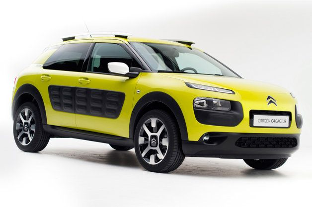 Citroën C4 Cactus production model keeps it weird and bumpy [w/video]