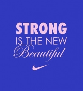 Strong in the new Beautiful