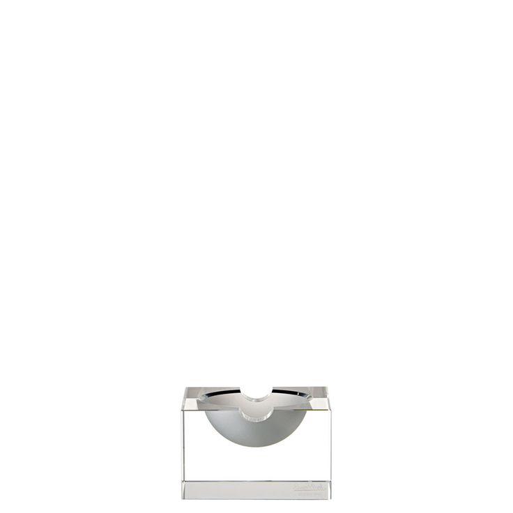 Rosenthal Blockglas Glatt Posacenere 10 cm