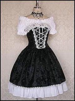 Vestido Vitoriano Lolita