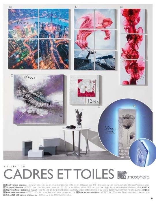 Catalogue octobre 2013 atmosph ra jja d coration d for Catalogue decoration interieure