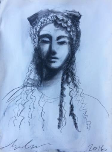 "Saatchi Art Artist melora walters; Drawing, ""Delicata-Acropolis-II"" #art"