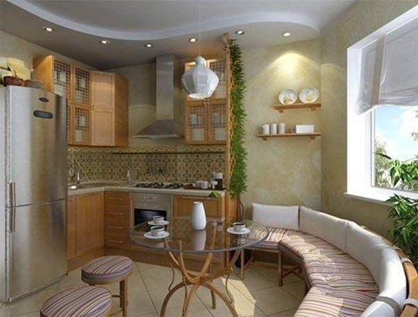 Идея для кухонного уголка