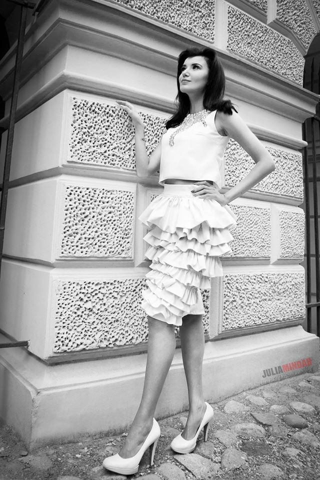 top i spódnica Gabriela Hezner  fot.Julia Mindar