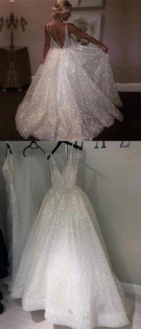 Sparkly Sequins A-Line V-back Popular Long Prom Dress, PD0616 Sparkly Sequins A-Line V-back Popular Long Prom Dress, PD0616