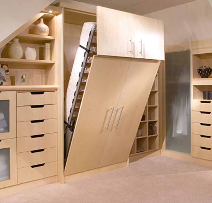 fold down bed a good option for a spare room - Fold Down Bed