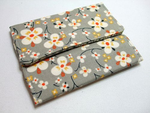 Great tute for a card wallet!