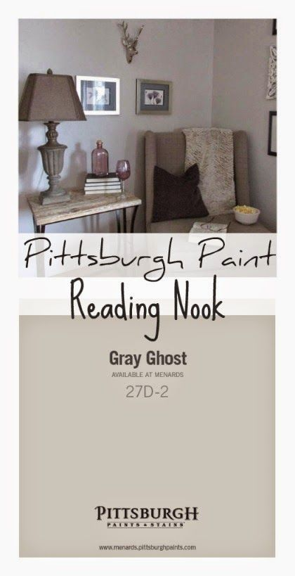 Reading Nook Makeover With Grand Distinction® Interior Paint Paint U0026 Primer  In One By Pittsburgh