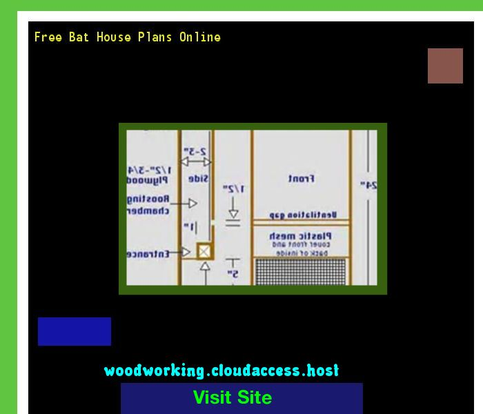 Free Bat House Plans Online 081400 - Woodworking Plans and Projects!