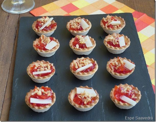 1000 images about tartaletas saladas y dulces on - Cena para invitados facil ...