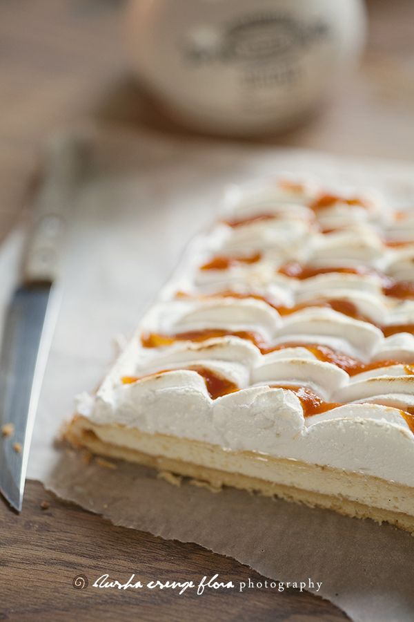Apricot Meringue Pie Recipe — Dishmaps