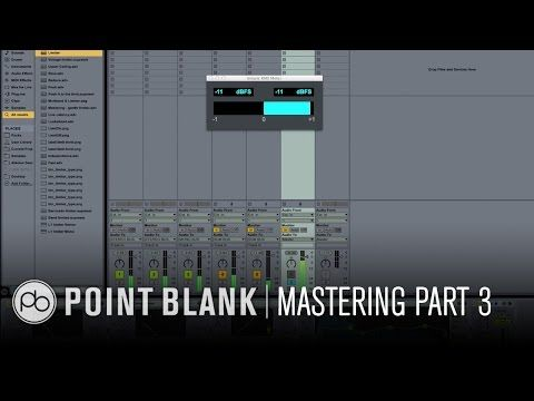 Mastering Dance Music in Ableton Live Part 3: Final EQ and Limiting