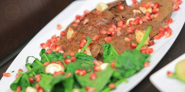 Cbc Sofra طريقة تحضير كبدة مشوية بدبس الرمان اميرة شنب Recipe Food Beef Meat