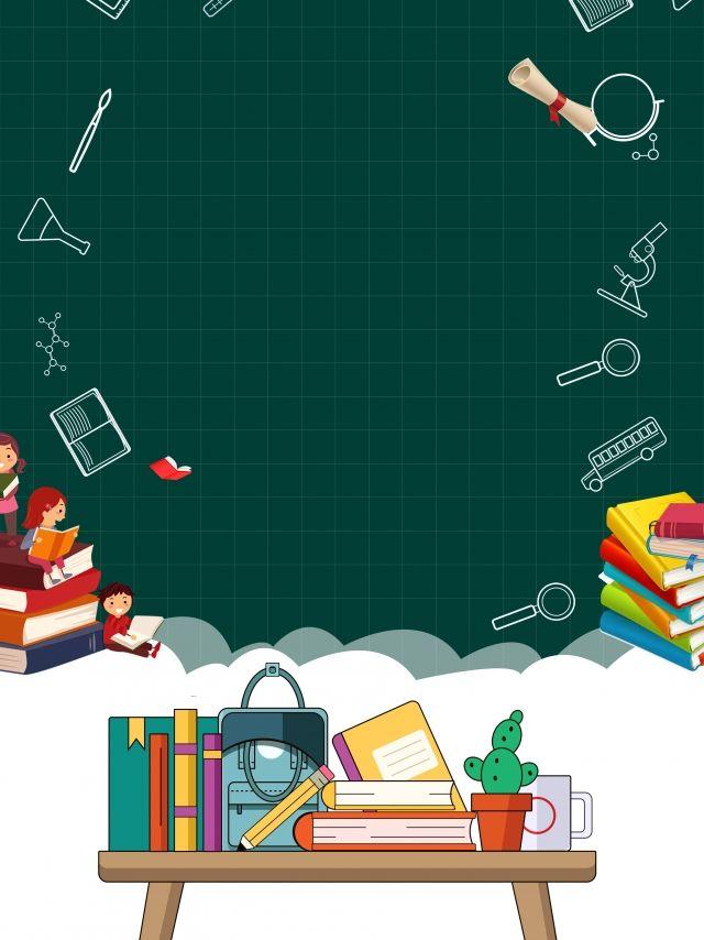 Hand Drawn Cartoon World Teacher Day Background Book Advertising Teacher Cartoon Teachers Day Poster