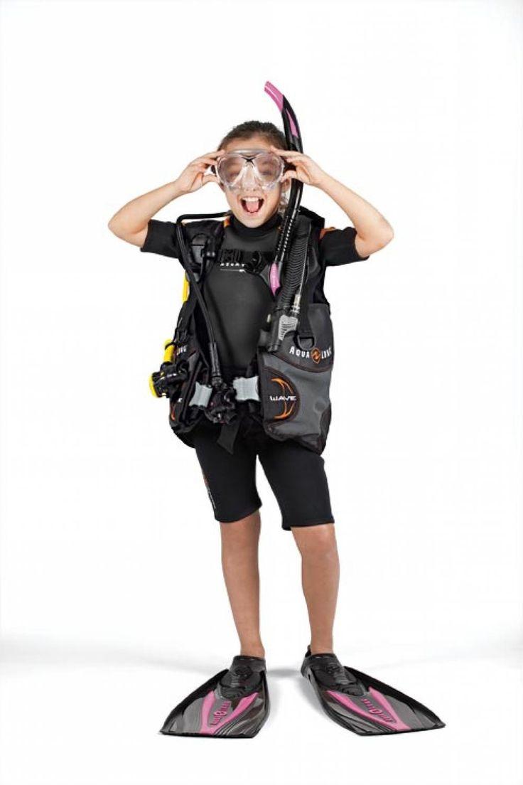 Kids scuba gear