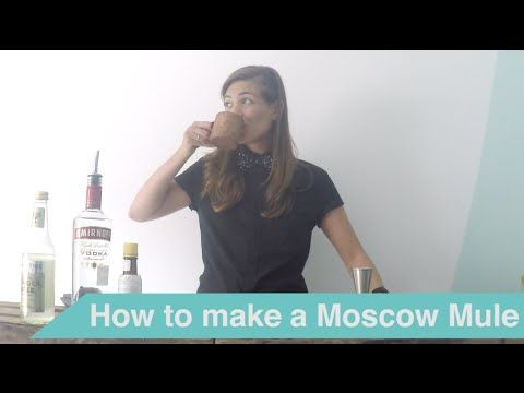 Tess Posthumus shows you in a series of tutorial videos how you can make delicious cocktails at home. Create this classic Moscow Mule cocktail yourself!