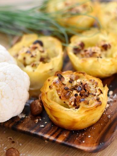 Recette : Gratin de chou-fleur léger - Une recette de cuisine Marmiton