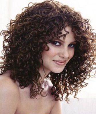 cortes de pelo rizado corto media melena largo cortes bonitos para el pelo