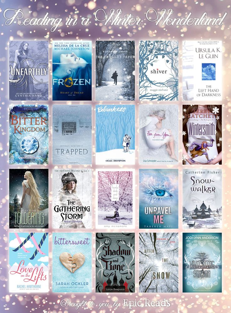 20 Wintry YA Books via @Epic Reads