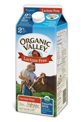 Organic Valley Lactose Free, Reduced Fat 2%, Ultra Pasteurized milk