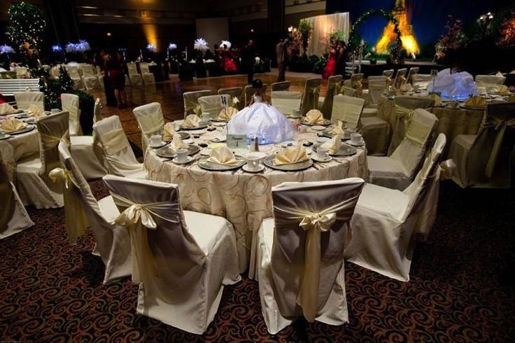 Table and chair decor ~ #WeddingsByNicole