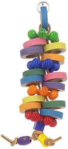 Super Bird Creations Tower of Bagels Toy for Birds Super ... https://www.amazon.ca/dp/B00JL13984/ref=cm_sw_r_pi_dp_x_H8cBybD5655XB