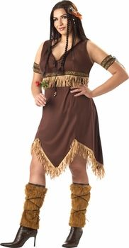 plus size indian princess costume #thanksgiving