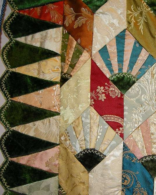 Best crazy quilts images on pinterest