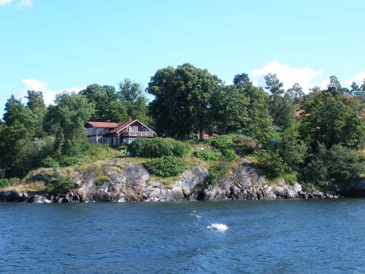 A house in the Stockholm Archipelago