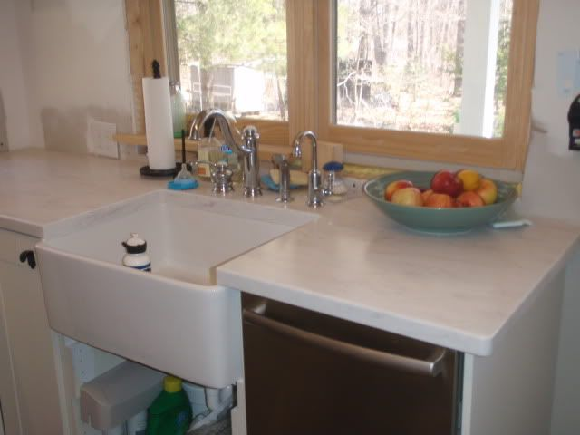 Image Result For White Kitchen White Counters