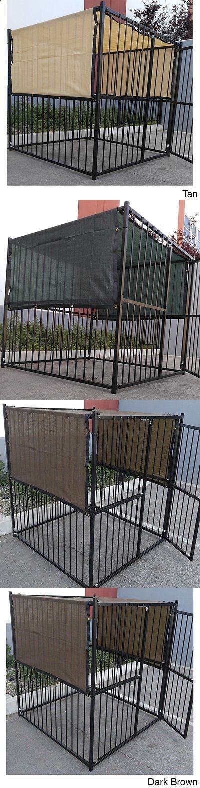 Dog Houses 108884: Outdoor Dog Kennel Cover Knitted Screen Sun Shade Cloth Uv 88% 6X10, 6X12, 6X15 -> BUY IT NOW ONLY: $31.49 on eBay!