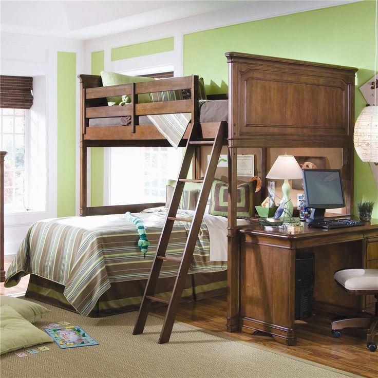 elite classics full size loft bed complete by lea. Black Bedroom Furniture Sets. Home Design Ideas