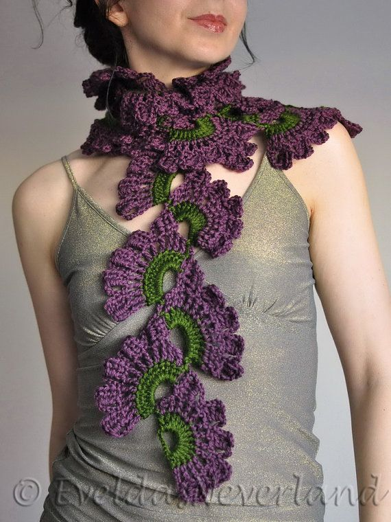 178 Best Images About Stunning Unique Knit Crochet Scarves On Pinterest Gloves Warm And Ux