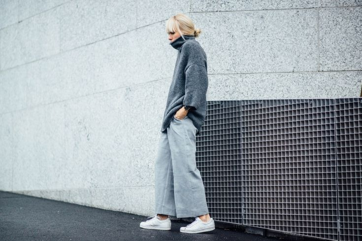 GREY culottes - Tickle Your Fancy | Lily.fi