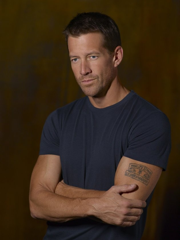 James Denton. We will miss you. He is leaving acting for his family life in the midwest. See him in That old feeling one of his first movies.