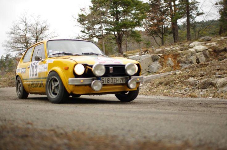Honda Cvcc Civic Rally Car Foreign Sports Cars Pinterest