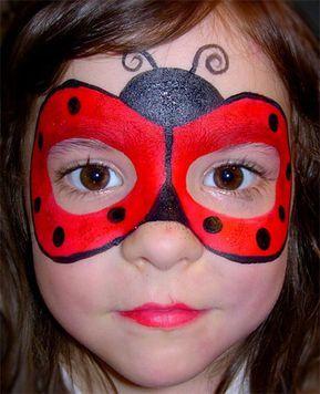 Trucco del Viso di Bambini per Carnevale: 75 Idee con Foto