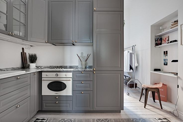 Kitchen, bedroom and workspace in one - via cocolapinedesign.com