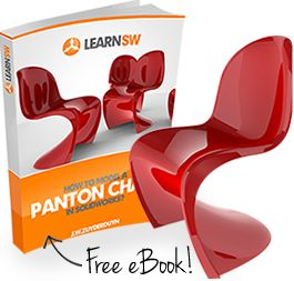 Panton chair Solidworks tutorial