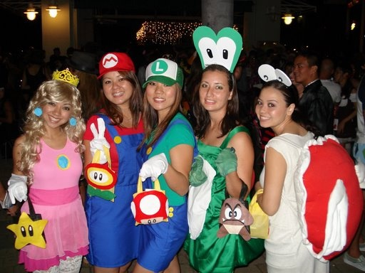Diy Super Mario Bros Costume Search A Thrift Store For  sc 1 st  Meningrey & Mario Bros Characters Costumes - Meningrey