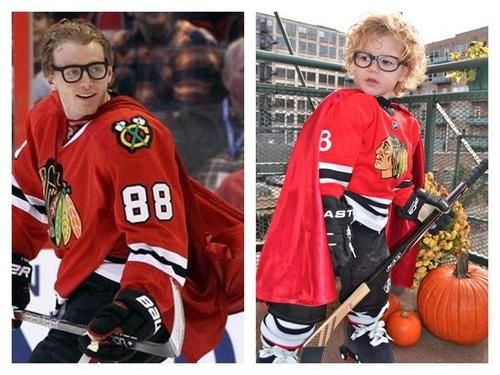 Patrick Kane hockey Halloween costume