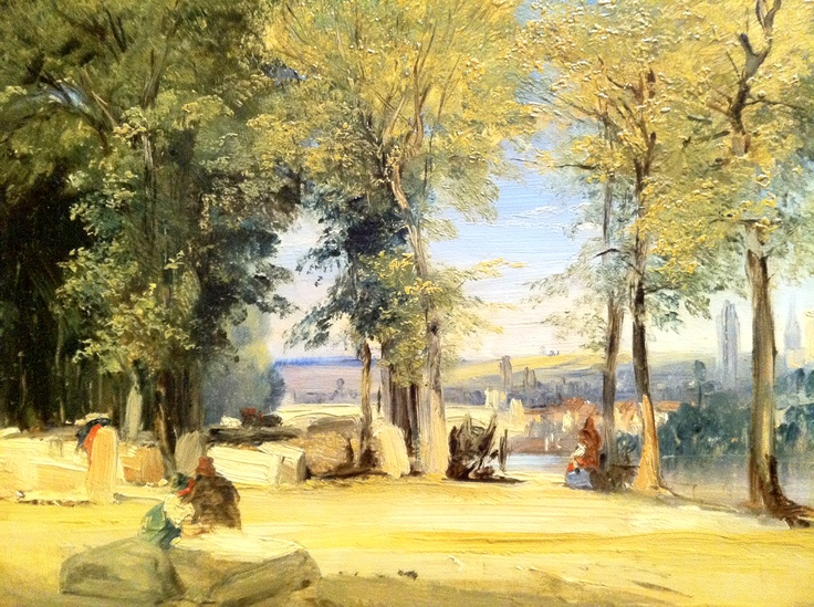 Bonington was playing with the immediacy of colors before the Impressionists made it cool!