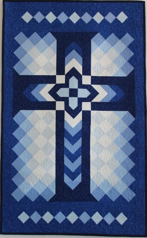 1000 Ideas About Cross Quilt On Pinterest Patchwork