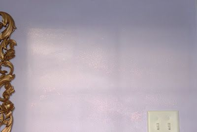 Just to Make It Sparkle!: My attempt @ the sparkle wall paint