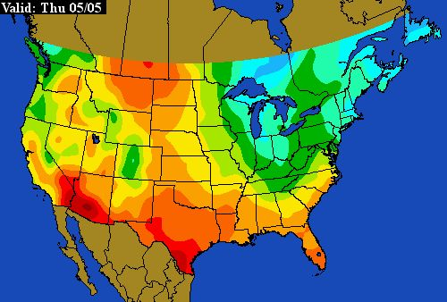 1000 images about flowers and gardens on pinterest for Soil temperature map
