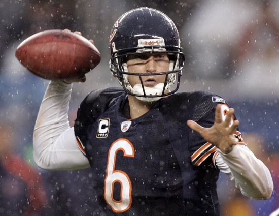Jay Cutler ~ Height: 6-3, Weight: 220,  Age: 29, Born: 4/29/1983, Santa Claus , IN, College: Vanderbilt  Experience: 7th season  High School: Heritage HS, Lincoln City, IN, 2012