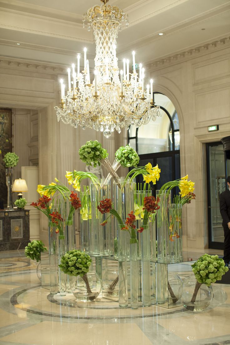 Hotel Foyer Display : Best images about jeff leatham s flowers on pinterest