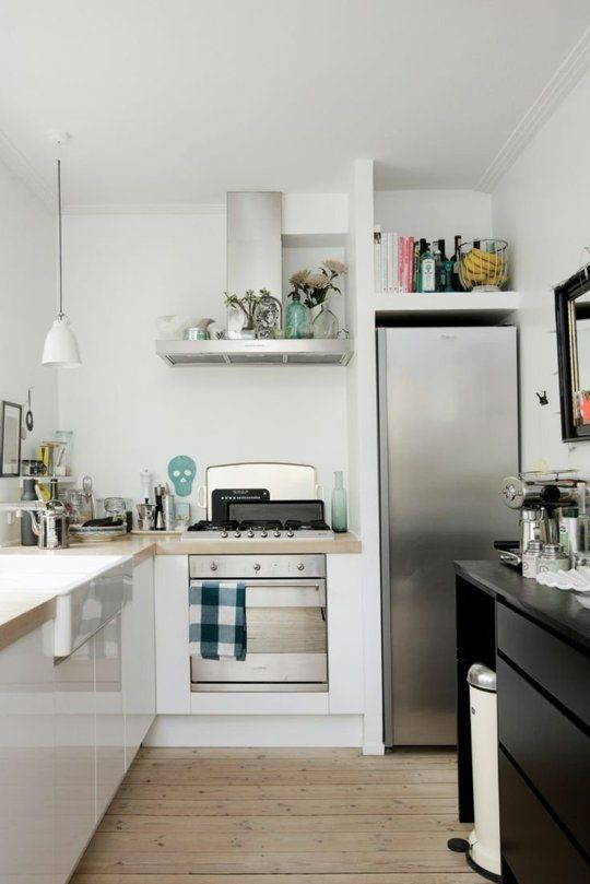 10 Inspiring Small Kitchens